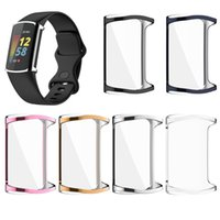 For Fitbit Charge 5 Case TPU Silicone Protective Clear Case Cover Shell for Fitbit Charge5 Smart Watch Band Accessories