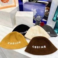 Luxury Brand Caps Designer Bucket Hat Ball Warm Plush Hats for Man Woman Cap 5 Color Top Quality