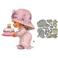 Painting Supplies Birthday Cake Metal Cutting Dies Baby Stencils Craft Stamp Set Mold For Scrapbooking Invitation Die Card Decor