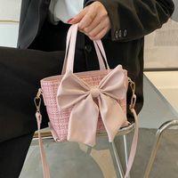 Evening Bags Big Bow Design Small Handbags For Women 2021 Summer Fashion Shoulder Crossbody Female Tote Bag Ladies Hand 7277