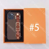 Mode Telefon Hüllen für iPhone 12 Pro Max Fall 12mini 11 11Promax XR XSMAX 7 8 Plus PU-Lederschale Samsung S20 S10 S10P S20P S20U Anmerkung 9 10 20 20U mit Handgelenkband