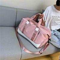Borse da esterno Borsa sportiva da donna viaggio impermeabile weekend valigie valigie borse bagagli yoga spalla per palestra sacco de viaggio