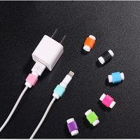 USB-kabels Protector Oortelefoon Draad Kabel Bescherming Cover Data Charger Line Beschermende Mouw voor Mobiele Telefoon 11 12 XR XS MAX PRO