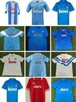 Retro Napoli Futbol Forması Klasik 1982 1983 1987 1988 1989 1991 1992 1993 87/88/89 91/93 Maradona Futbol Spor Gömlek S-2XL