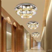 Ceiling Lights Modern Crystal LED Lamparas Celling Lamp Bedroom Light Living Room Balcony Corridor Fixtures