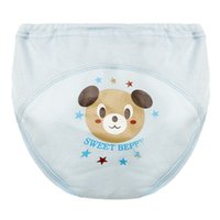 Töpfchen-Trainingshose Baby-Windeln für Kleinkind Junge Mädchenhöschen wiederverwendbar waschbar Tuch Windeln Baby Baumwollwindel Wasserdicht 939 x2