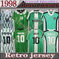 1994 1996 1998 Nigelia Soccer Jersey Home Away Touchsuit Okechukwu Okocha Ahmed Musa Mikel Iheanacho футбольная футболка