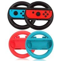 Controller di gioco Joysticks 2pcs Accessori per commutazione Accessori per il volante Racing Controller manico Grips Holder Joy-Con Caps per NS Gamep
