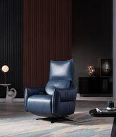 Wohnzimmermöbel casual doppelte elektrische individuelle sofa einfache blaue farbe mode stil