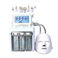 7 in 1 Hydra Dermabrazyon Peel Spa Yüz Makinesi Cilt Gençleştirme Su Oksijen Küçük Gaz Kabarcık Mikrodermabrazyon