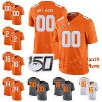 NCAA College-Trikots Tennessee Freiwillige 15 Jauan Jennings 16 Peyton Manning 19 Darrell Taylor 2 Jarrett Garantie Custom Football genäht