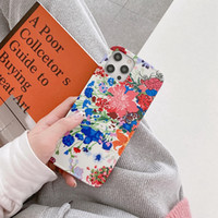 Luxury flower photo frame phone cases for iPhone 12 Pro max mini 11 11Pro X XS XR XSMAX shell PU leather designer 11promax 12promax cover A06
