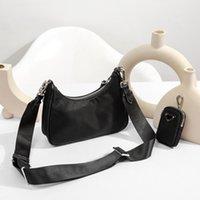 Оптовые дизайнерские сумки сумки для женской леди 2005 нейлон Crossbody Tote Hobo Buash Bags в форме сердца в форме сердечной формы бэкпак украшения брезенторов брезентовый мини-кошелек сумка с коробкой