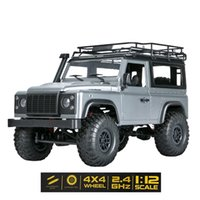 1:12 Scale MN Model RTR Version WPL RC Car 2.4G 4WD MN99S MN99-S RC Rock Crawler D90 Defender Pickup Remote Control Truck Toys 210915