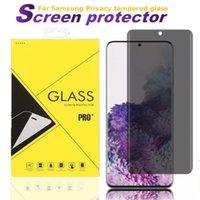 Для iPhone с бумажной коробкой Устройства экрана конфиденциальности для Samsung S20 S20 Ультра примечание 20 10 плюс S8 S9 Конфиденциальность закаленного стекла