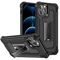 Military Shockproof Phone Cases For Iphone 13 Pro Max 12 Mini 11 Xs Xr X SE 7 8 Plus 6s 6 Rugged Hybrid Hard PC Protective Cover