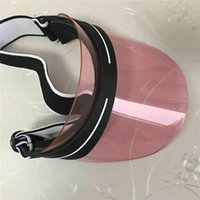 2021 Sombrero sin cabeza Sombrero Clásico Diseño de Moda Sunvisor Actualización Espesado Verano Al Aire Libre Gafas de sol Ultravioleta Tamaño Ajustable 56-62cm