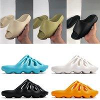 여성 남자 샌들 슬라이드 수지 지구 갈색 뼈 패션 슬리퍼 망 타이너 해변 사막 모래 샌들 슬립 온 러너 신발 36-45