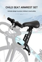 Bike Saddles Front Mounted Child Mtb Seat For 2 3 4 5 Year Sold Soft Baby Mountain Bicycle Frame Quick Release Kids Saddle Parts