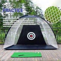 Гольф Учебные СПИДа практика чистая широко открытая палатка крытый открытый 2 м * 1,8 м * 1 м удара клетки садовый сад луга