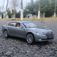 1/32 BMW 7 Série 760 LI Alliage Car mannequin Diecasts Simulation en métal Véhicules Toy Modèle de voiture Modèle Sound Light Collection cadeau pour enfants