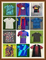 Barcelona Jersey Jersey Barca Camiseta de Futbol Ansu Fati 2021 2022 Messi Grisezmann F.De Jong Maillots Homens Kit Kit Camisa de Futebol