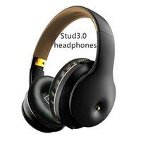 ST3.0 سماعات لاسلكية سماعات ستيريو بلوتوث سماعات سماعات طوي دعم TF بطاقة بناء في ميكروفون 3.5 ملليمتر جاك ل iPhone Huawei