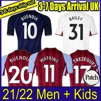21 22 Aston Football Jerseys Villa Buendía Traore Barkley 2021 2022 Watkins Wesley El Ghazi M.Trezeguet Chemise de football McGinn McGinn Kits