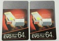 DHL 배송 32GB / 64GB / 128GB / 256GB 고품질 EVO + 플러스 마이크로 SD 카드 U3 / 스마트 폰 TF 카드 C10 / 자동차 레코더 SDXC 저장 카드 95MB / s