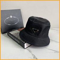 جديد نايلون دلو قبعة للجنسين المرأة الرجال القبعات مثلث الفم الصوت مصممي قبعات رجل بونيه قبعة مصمم p cap إمرأة شاطئ sunhat d2107072l