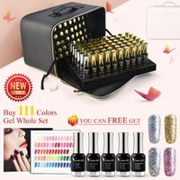 60751K Venalisa 120pcs Nail Gel Polish Kit 12ml Platinum Primer Base Matt Top Coat Set incluso Costo della nave