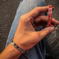 Bracelet 2021 Hommes Dial Steel Speed Speed compteur Bracelets Bracelets Cadeau Bezel Boube à manchette en acier inoxydable pour petit ami