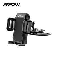 Mpow MCM3 Car Holder Grip Pro Universal CD Slot Car Cradle Mount Holder Stand for iPhone X/8/8Plus/7/7Plus/6s/6P Galaxy S5