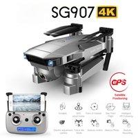 Salmof SG907 SG901 GPS RC Quadcopter wifi FPV ile 1080 P 4 K HD Çift Kamera Optik Akış Drone Beni Takip Edin Mini Dron vs E502S