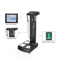 GS6.5 Professional BMI Digital Height Weight Test Inbody 3D Bodyscan Body Composition Analyzer with Printer
