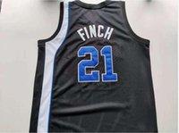 Jersey de basquete raro homens juventude mulheres tigres vintage larry finch tamanho preto s-5xl personalizado qualquer nome ou número