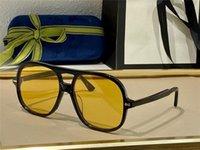 Occhiali da sole per uomo e donna Stile estivo 0706S Anti-ultravioletto Retro piastra ovale integrale Big frame Eyeglasses Moda con pacchetto