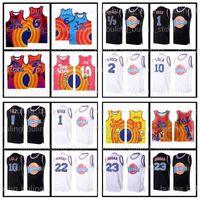 23 Michael Basketball Trikots Tune Squad Jersey 2 Space Jam 10 Lola 1 Bugs Lebron 6 James 1/3 Tweety! TAZ Daffy Duck R.Runner Bill Murray