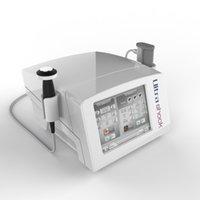 Physiothérapie de massage Portable ESWT SHOCHWAVE pour une machine à thérapie à ondes ultrant-fines de masseur complet