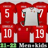 2021 المجر بعيدا كرة القدم الفانيلة المنتخب الوطني szalai szoboszlai 21 22 كرة القدم الرجال قميص أطفال