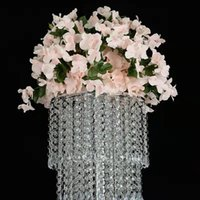 Party Decoration Acrylic Crystal Flower Rack Wedding Centerpiece Road Leads For Home
