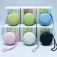 Macaron Inpods Burger Wireless Bluetooth Mini Speaker Outdoor Högtalare Portable Hamburger 3D Stereo Music Surround Bass Box