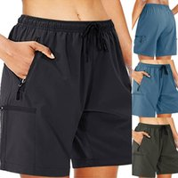 Men's Shorts Men's Cargo Quick Dry Lightweight Travel Athletic Zipper Pockets Daily Outdoor Fashion Casual Solid Color
