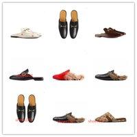 2021WHOLESEALE DISEÑA DE LA MARCA DE VERANO MUJERES FUMINAS FLOPS SHIPPER MODA DE CUERO GENUINO TIPOS DE CUERCO SANDAVIAS Cadena de metal Ladies Zapatos casuales