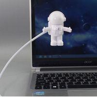 Creative Design Energy Saving Night Light Astronaut Spaceman USB LED Computer Laptop Notebook Lamp Mini Keyboard crestech168