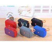 Mini TG506 Tragbare Bluetooth-Lautsprecher 6 Farben HiFi Audio-Musik-Player-Box Subwoofer Bass Lautsprecher FM Radio TF-Karte mit Kleinkasten
