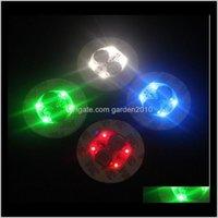Autres fournisseurs de fête festive pour la base de verre Bong LED Light 7 couleurs Réglage Matic En stock à plus de 100 pcs RBNAW 9UPLR