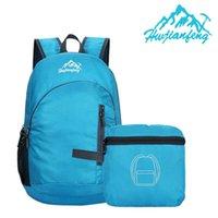 Tissu de nylon imperméable durable pliant léger pliant sac à dos conditionnel pour sacs de sport de plein air