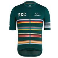 2021 Men's Rapha Team Ciclismo Rapo Cycling Jersey Road Camisas de carreras MTB Bicicleta Tops Quick Dry Al Aire Libre Mangas Tiras Transpirador Uniforme S21040536