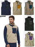 2021 new arrived PATAGONIA Vest Thick warm Classic Retro-X autumn winter couple models lamb cashmere fleece for men women 6color